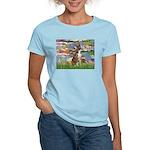 Lilies & Brindle Boxer Women's Light T-Shirt