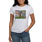 Lilies & Brindle Boxer Women's T-Shirt