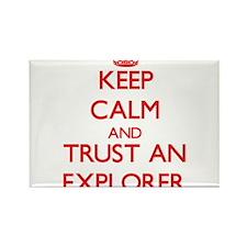 Keep Calm and Trust an Explorer Magnets