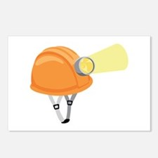 Cave Climbing Helmet Postcards (Package of 8)