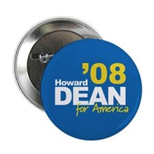 HOWARD DEAN FOR AMERICA '08 Button