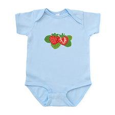 Strawberry Fruit Body Suit