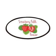 Strawberry Fields Forever Patches