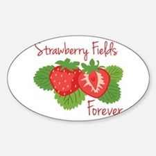 Strawberry Fields Forever Decal