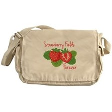 Strawberry Fields Forever Messenger Bag