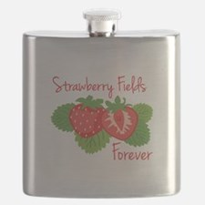 Strawberry Fields Forever Flask