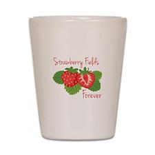 Strawberry Fields Forever Shot Glass