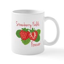 Strawberry Fields Forever Mugs