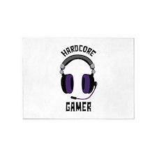Hardcore Gamer 5'x7'Area Rug