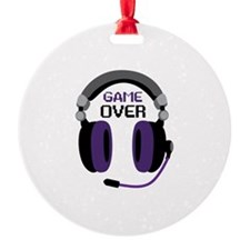 Game Over Ornament