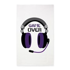 Game Over 3'x5' Area Rug