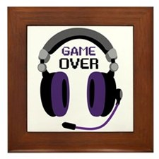 Game Over Framed Tile