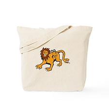 Chimera Attacking Front Cartoon Tote Bag