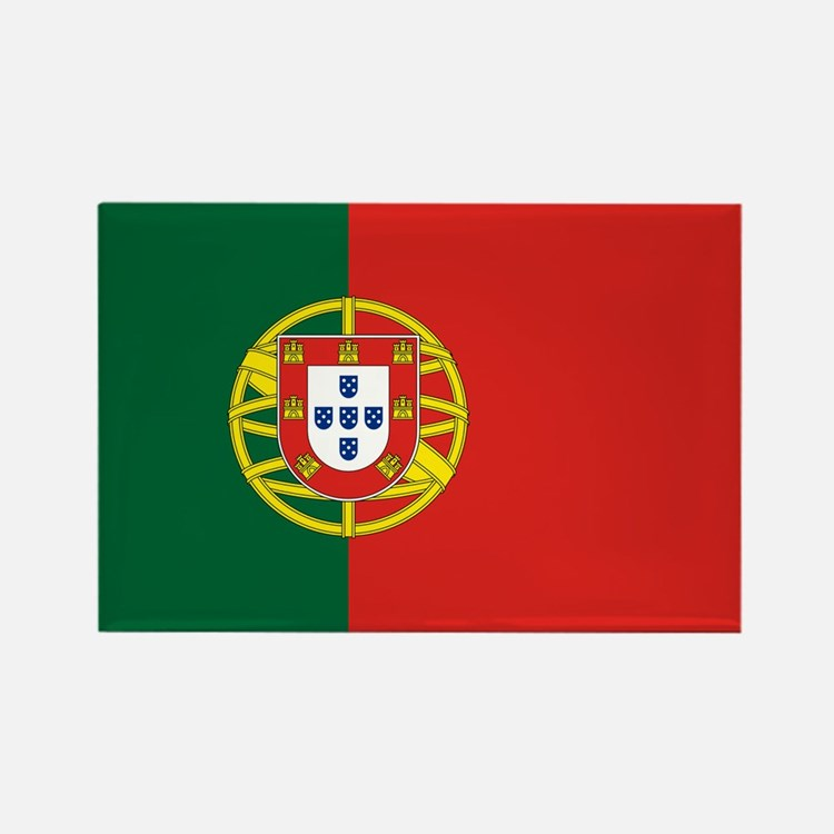 Portugal Flag Rectangle Magnet
