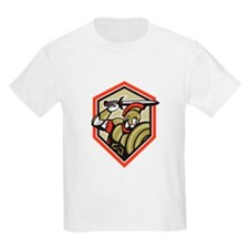 Centurion Roman Soldier Attacking Shield T-Shirt