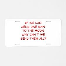 men Aluminum License Plate