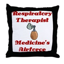 RT Medicine's Airforce Throw Pillow