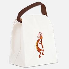 Kokopelli Native American Symbol Canvas Lunch Bag