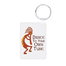 DANCE TO YOUR OWN TUNE Keychains