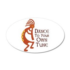 DANCE TO YOUR OWN TUNE Wall Decal