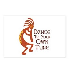 DANCE TO YOUR OWN TUNE Postcards (Package of 8)