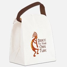 DANCE TO YOUR OWN TUNE Canvas Lunch Bag