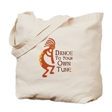 DANCE TO YOUR OWN TUNE Tote Bag
