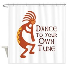DANCE TO YOUR OWN TUNE Shower Curtain