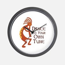 DANCE TO YOUR OWN TUNE Wall Clock