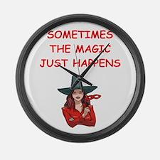 magic Large Wall Clock