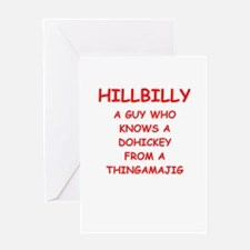 hillbilly Greeting Cards
