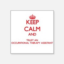 Keep Calm and Trust an Occupational anrapy Assista