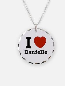 I love Danielle Necklace