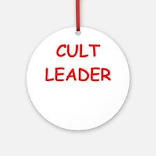 cult Ornament (Round)