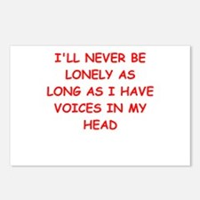 lonely Postcards (Package of 8)