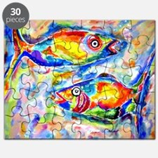 Colorful Artwork Fish Puzzle