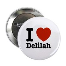 "I love Delilah 2.25"" Button (10 pack)"