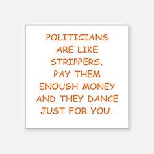 politicians Sticker