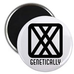 "Genetically : Female 2.25"" Magnet (100 pack)"