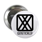 "Genetically : Female 2.25"" Button (10 pack)"