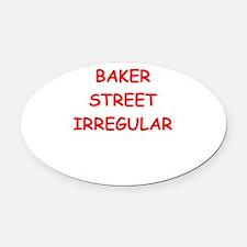 BAKER street Oval Car Magnet