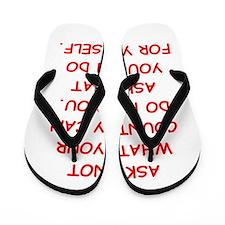 self inprovement Flip Flops