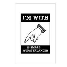 With the Moonster Postcards (Package of 8)