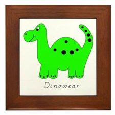 Dinowear - Junior Dino Wear. Framed Tile