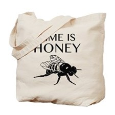 Time Is Honey Tote Bag