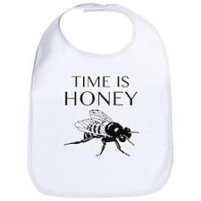 Time Is Honey Bib