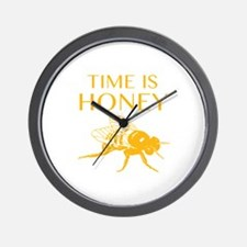 Time Is Honey Wall Clock