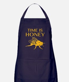 Time Is Honey Apron (dark)