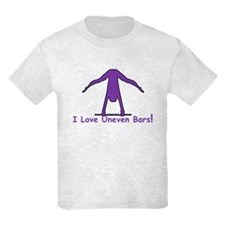 Kids Gymnastics T-Shirt - Bars