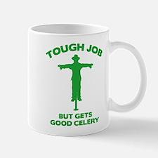 Tough Job But Gets Good Celery Mug